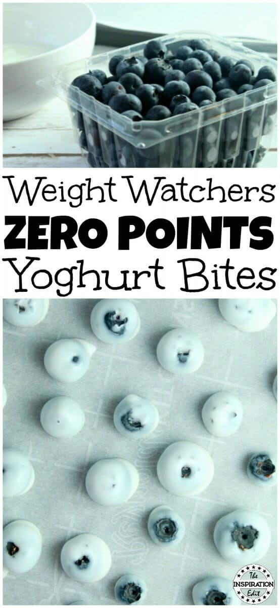 Weight Watchers Blueberry Bites