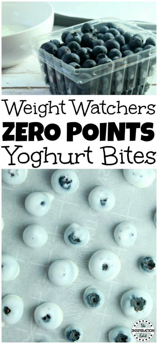 Weight Watchers Blueberry Bites