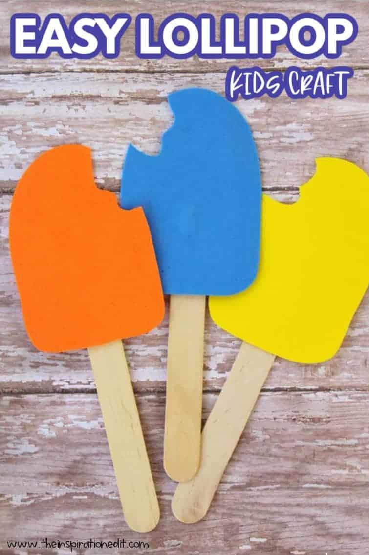 easy lollipop craft