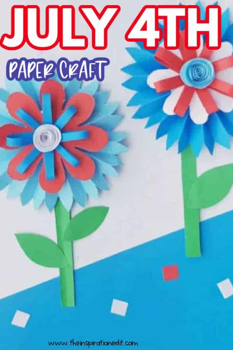 july 4th paper craft