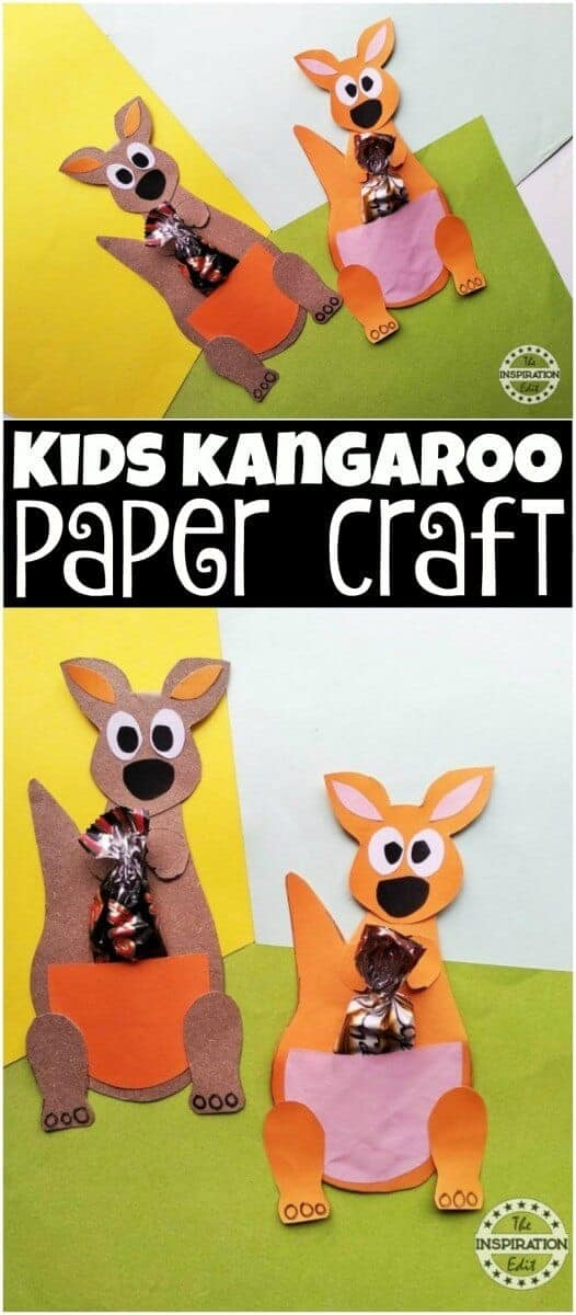 kangaroo paper craft