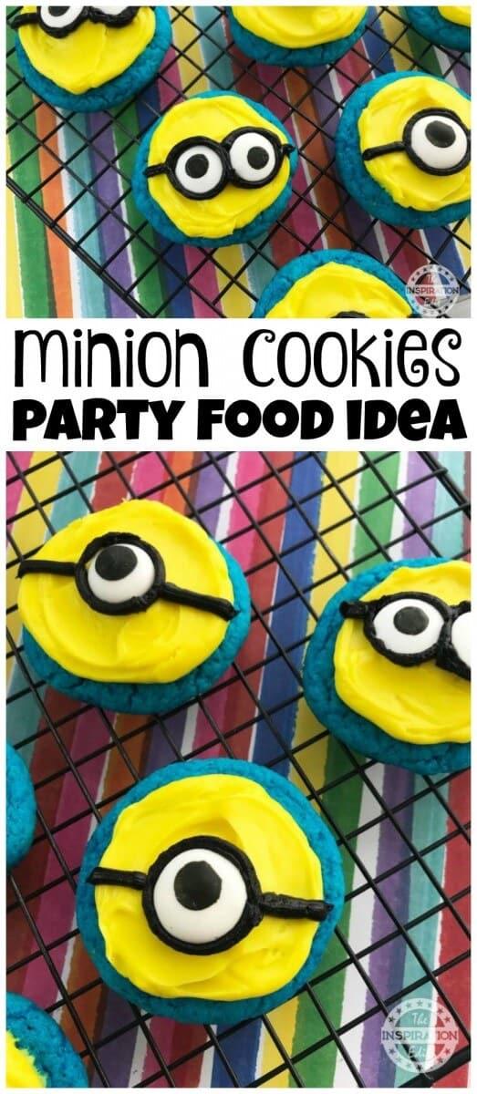 minion cookies party food idea