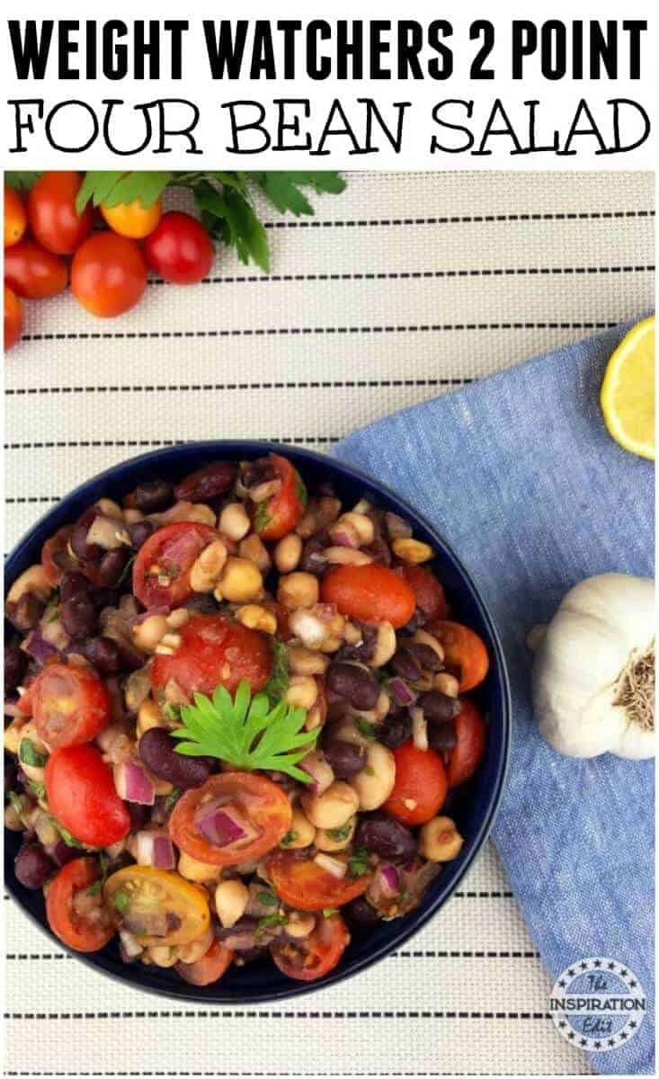 WEIGHT WATCHERS 4 BEAN SALAD FREESTYLE RECIPE