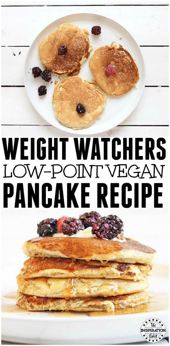 weight watchers vegan pancakes low points