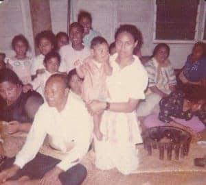 sosaia ahau and maele lavaka family