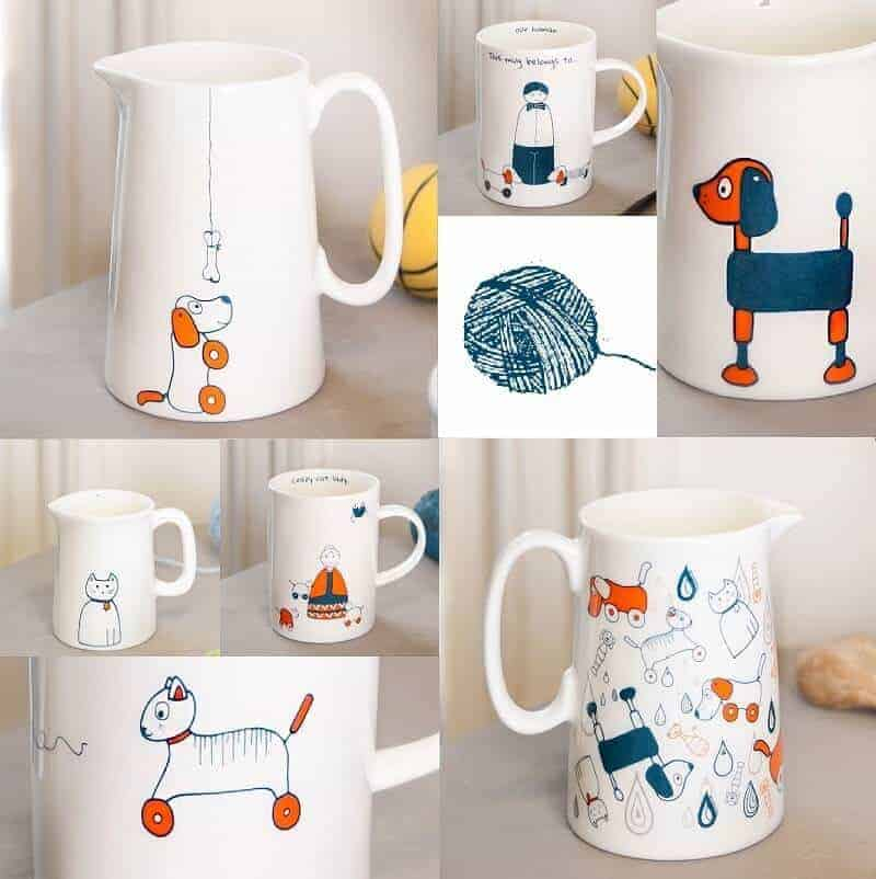 Raining Cats And Dogs Homewares From Helen Russell