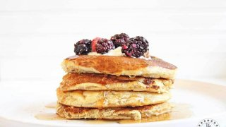 Weight Watchers Low-Point Vegan Pancakes