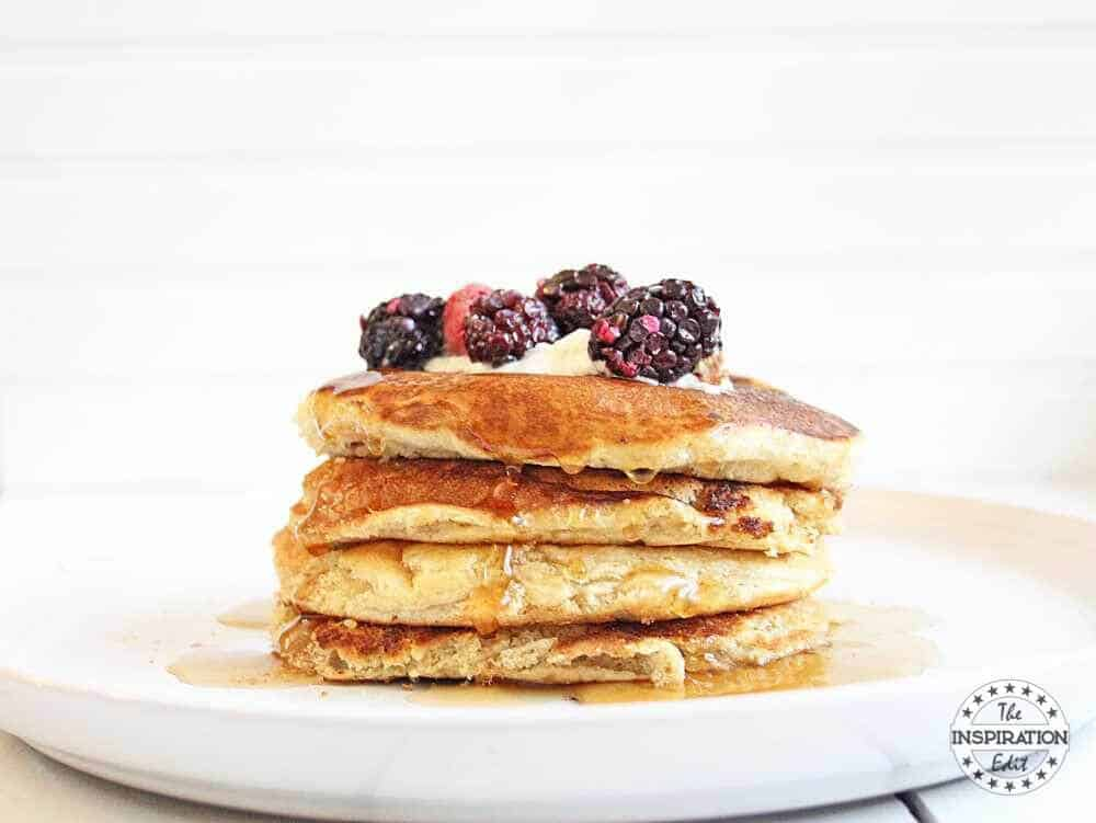 weight watchers vegan pancakes indulgent coconut creme