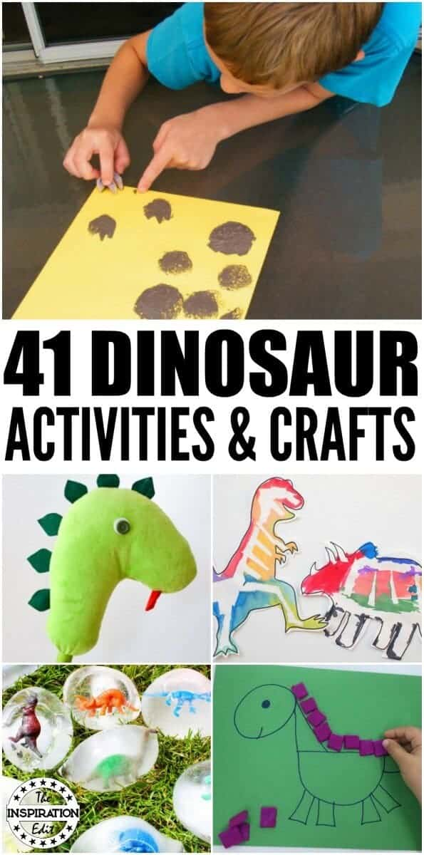 41 Dinosaur Activities and Crafts For Summer
