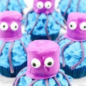 Octopus Cupcakes for kids