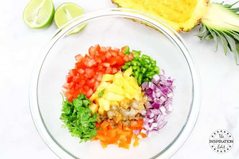 weight watchers zero points pineapple salsa