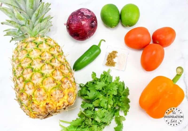 weight watchers zero points pineapple salsa