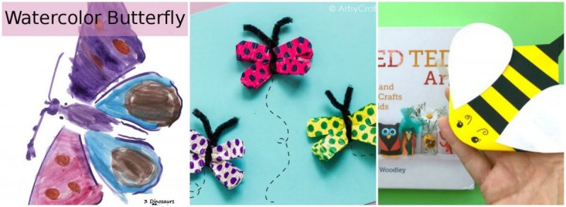 Preschool Bug Crafts
