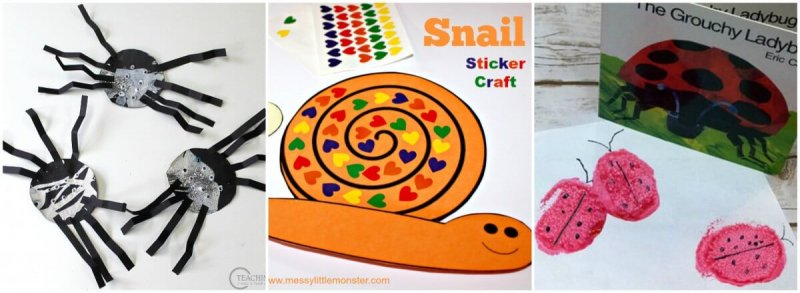 insects and bug crafts