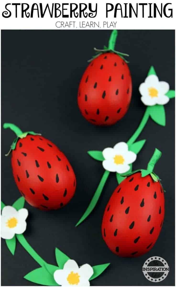 strawberyy craft for kids