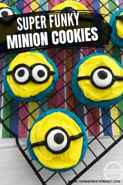 Super Funky Minions Cookies Party Food Idea