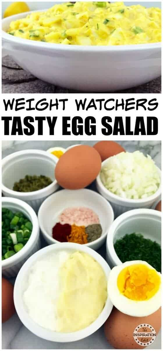 Weight watchers Egg salad