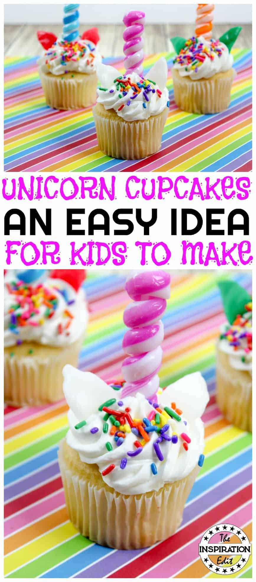 unicorn cupcakes tutorial a great unicorn party food idea