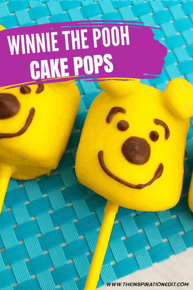 Winnie The Pooh Birthday Cake Pops (1)