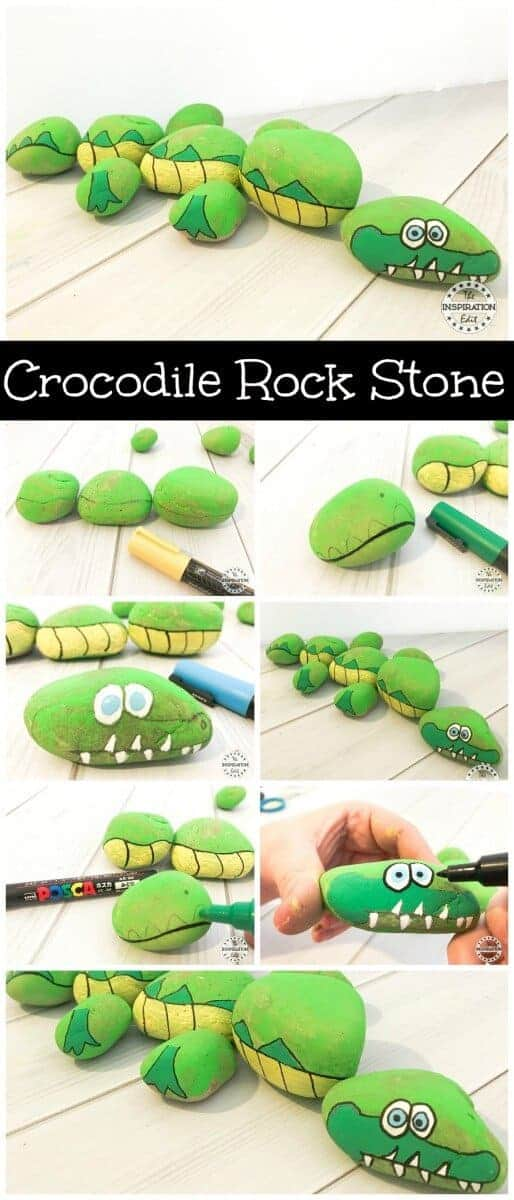 crocodile rock stone