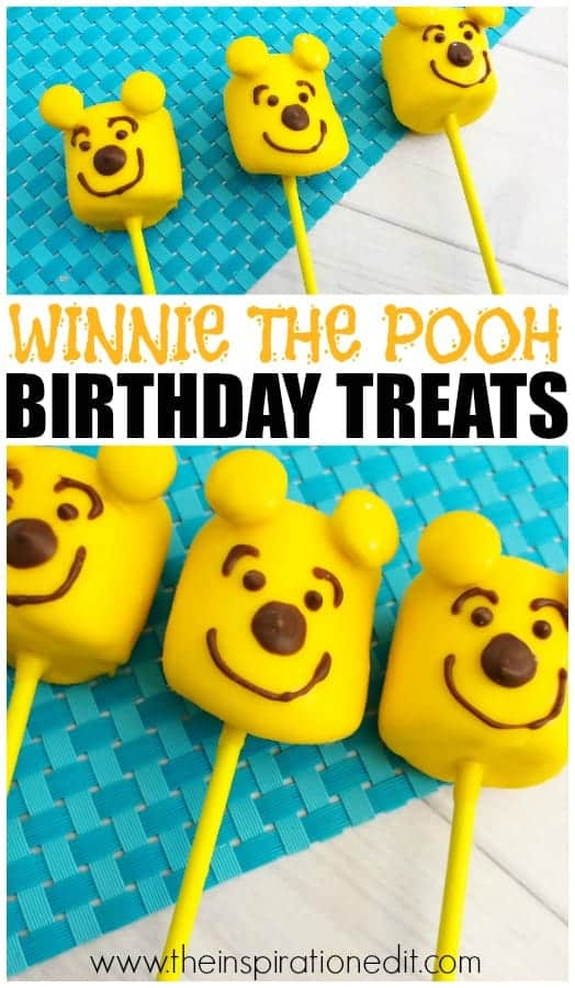 winnie the pooh party food lollipops