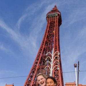 visiting blackpool tower a view from the top