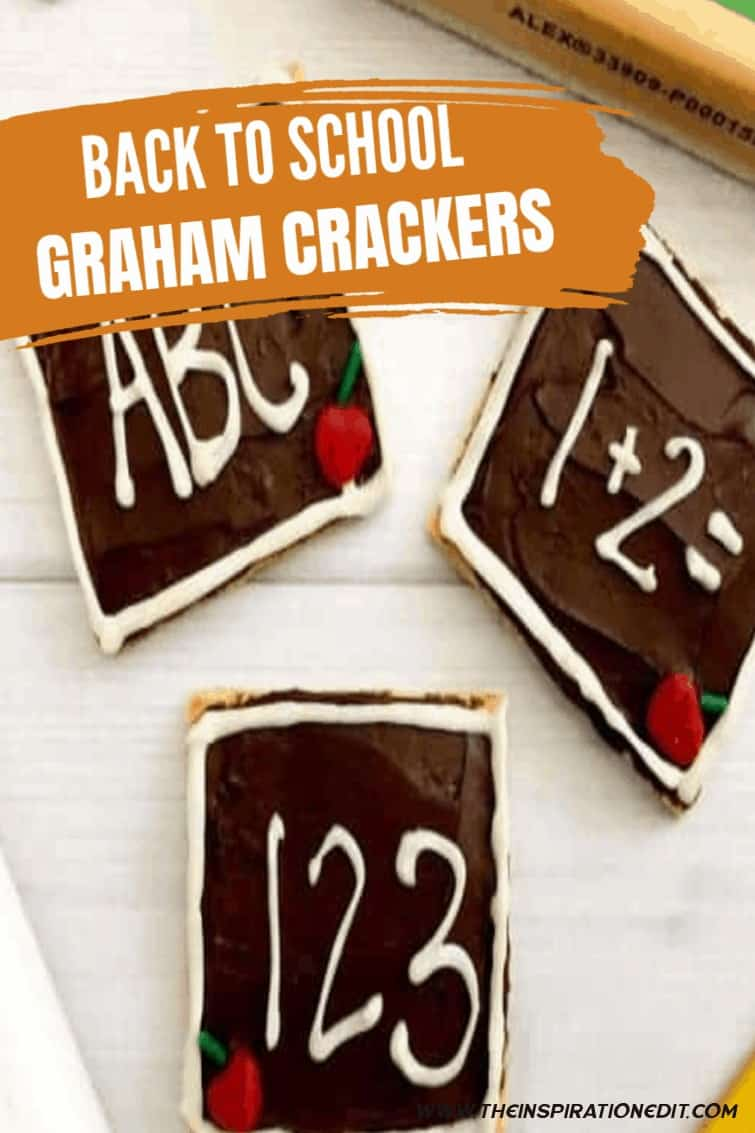 Back To School Fun Graham Cracker Recipe
