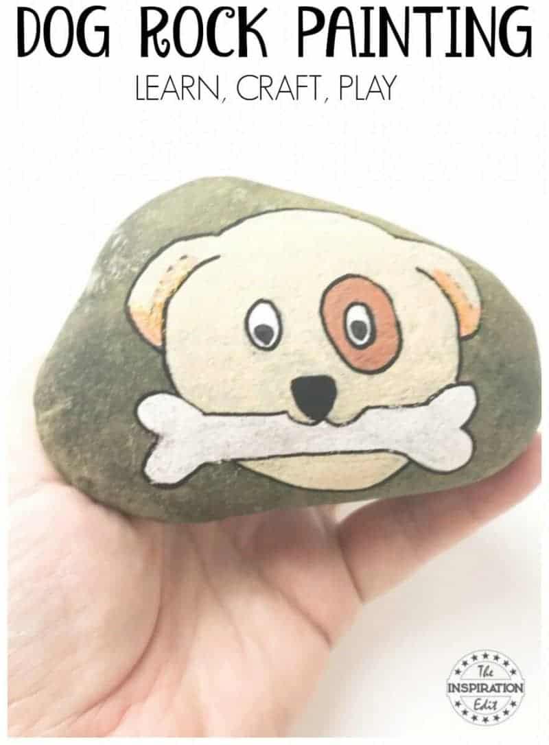 dog rock stones