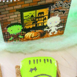 frankenstein smores halloween treats