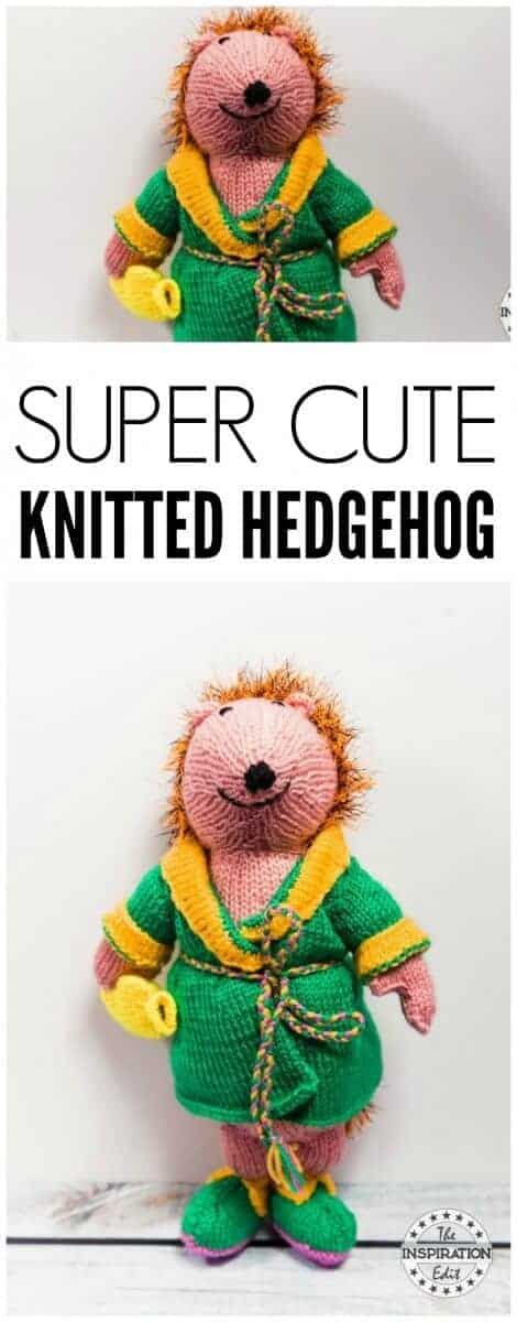 HEDGEHOG KNITTING BY ALAN DART
