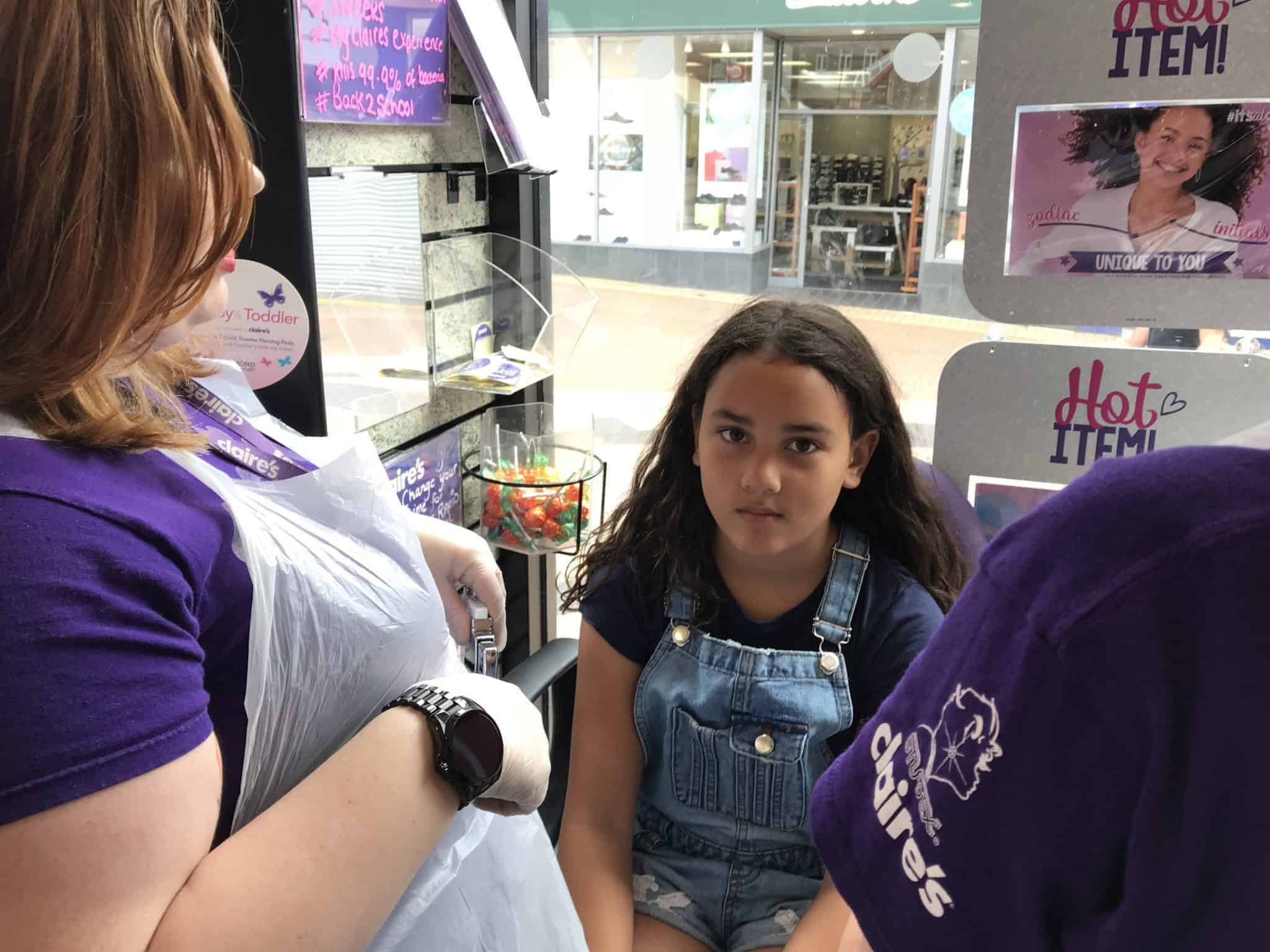 Claires Ear Piercing For Kids What You Need To Know · The