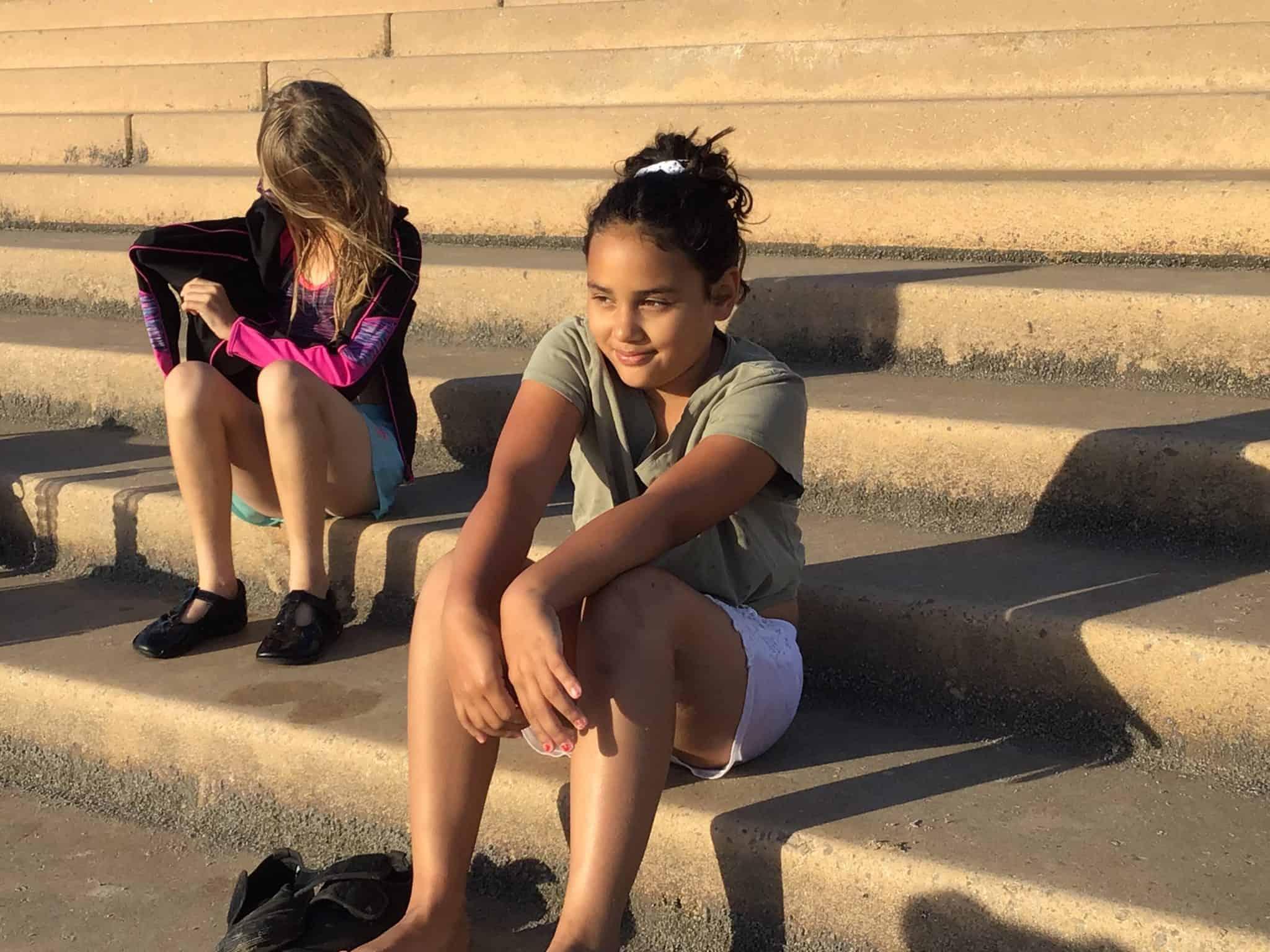 visiting blackpool beach with chronic illness