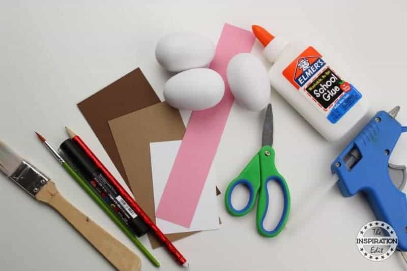 Bear And Hedgehog supplies for your preschool craft