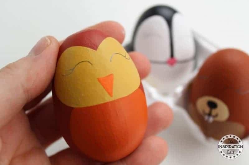 Owl Egg Craft preschool crafts for fall