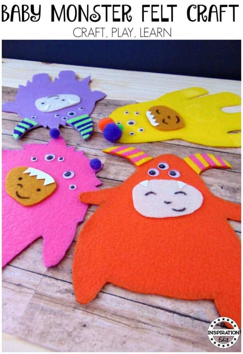 Monster felt craft