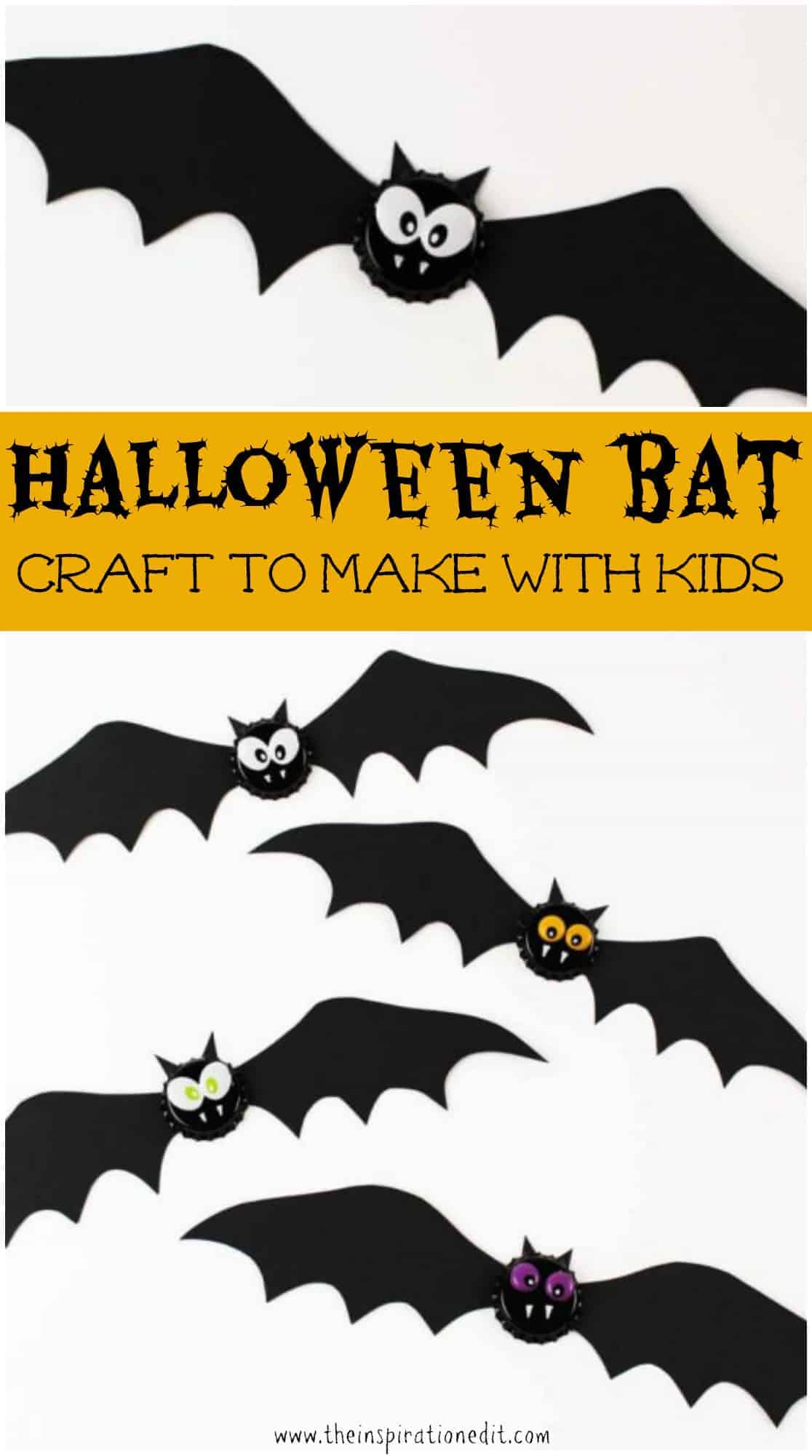 Halloween Craft Ideas For Toddlers Bat Magnet The Inspiration Edit