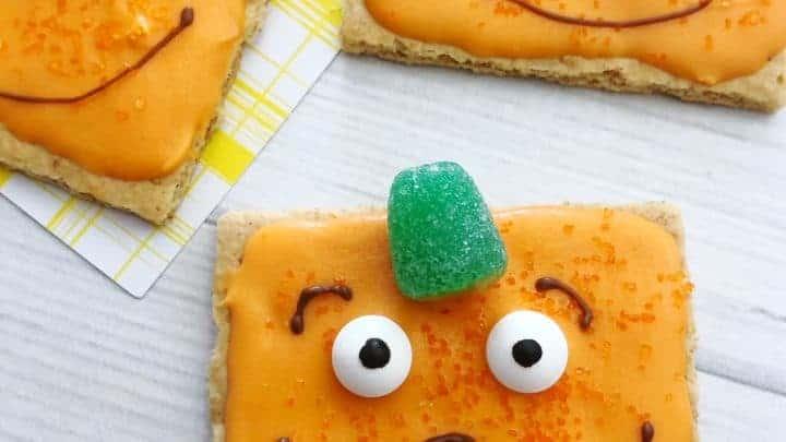 spookley the pumpkin halloween pumpkin cookies