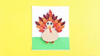 thanksgiving turkey craft idea