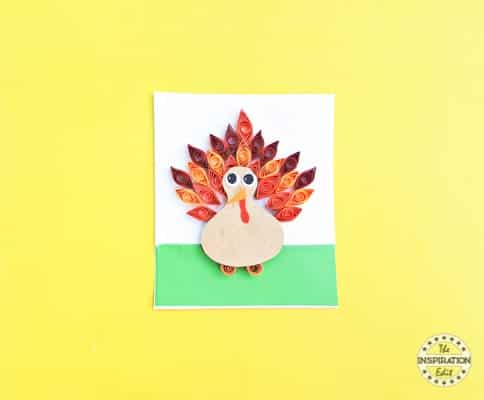 thanksgiving turkey craft idea