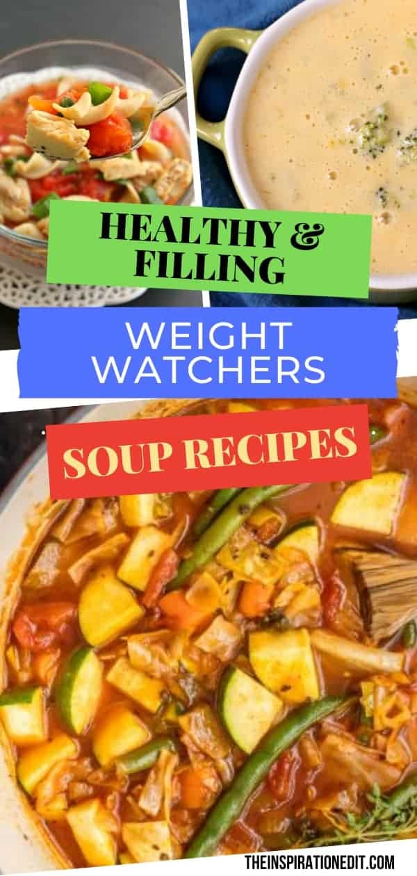 delicious weight watchers soup recipes