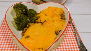 Sweet Potato Cottage Pie With Roasted Broccoli
