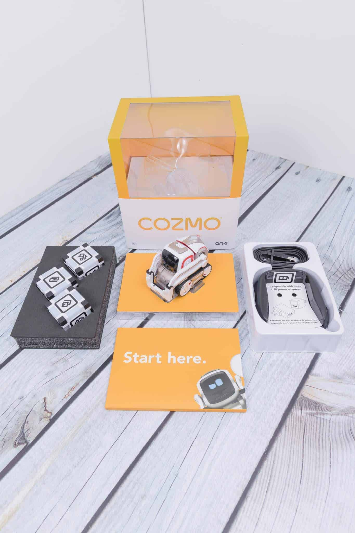 Anki Cozmo Robot Review - Whats in The Box Portrait mode
