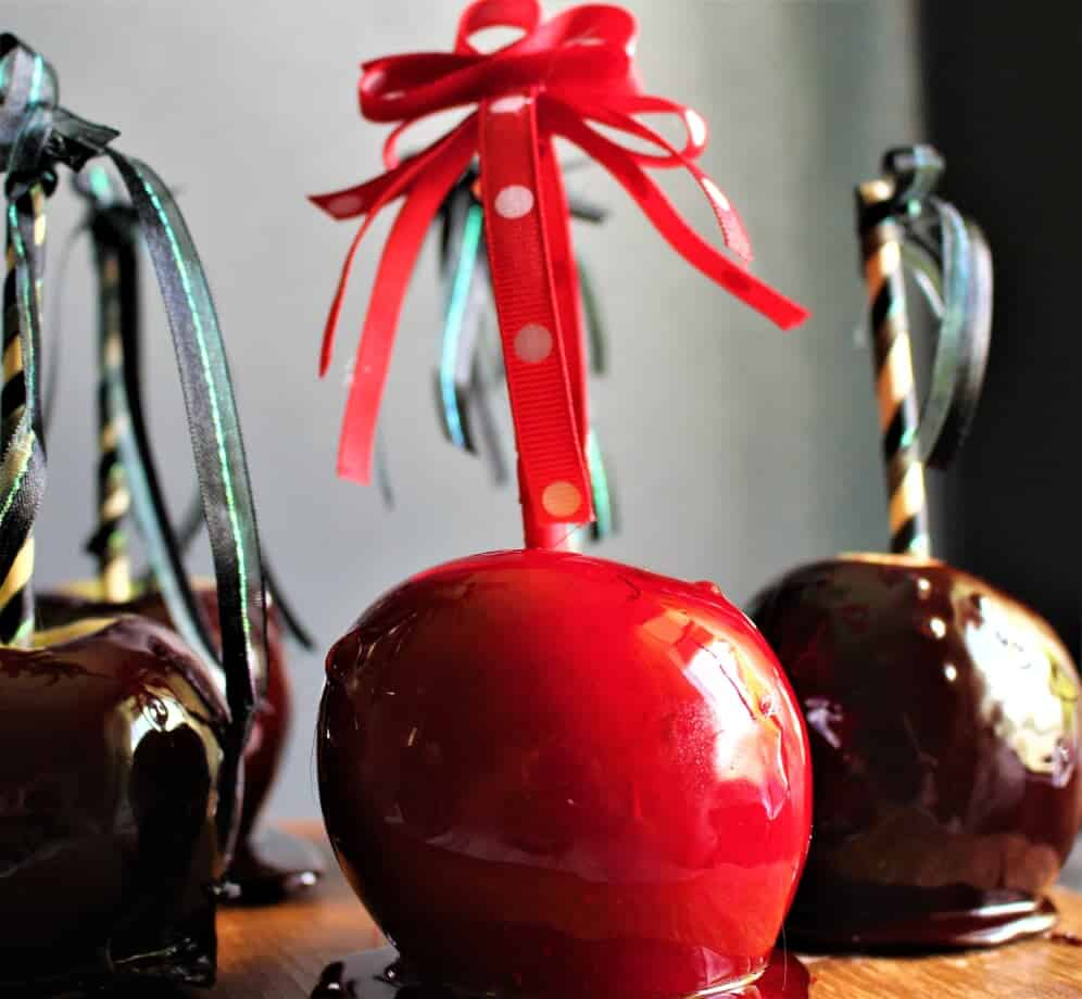 ingredients for candy apples