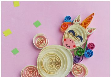 Unicorn pictures paper unicorn quilling craft