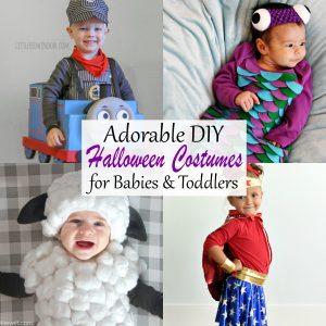 adorable diy halloween costumes