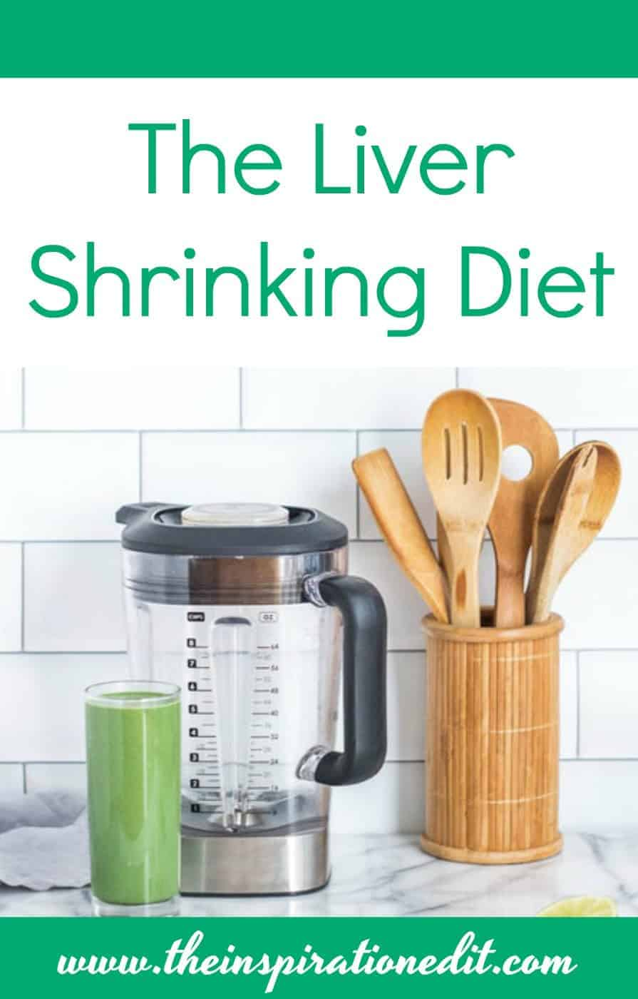 liver shrinking diet