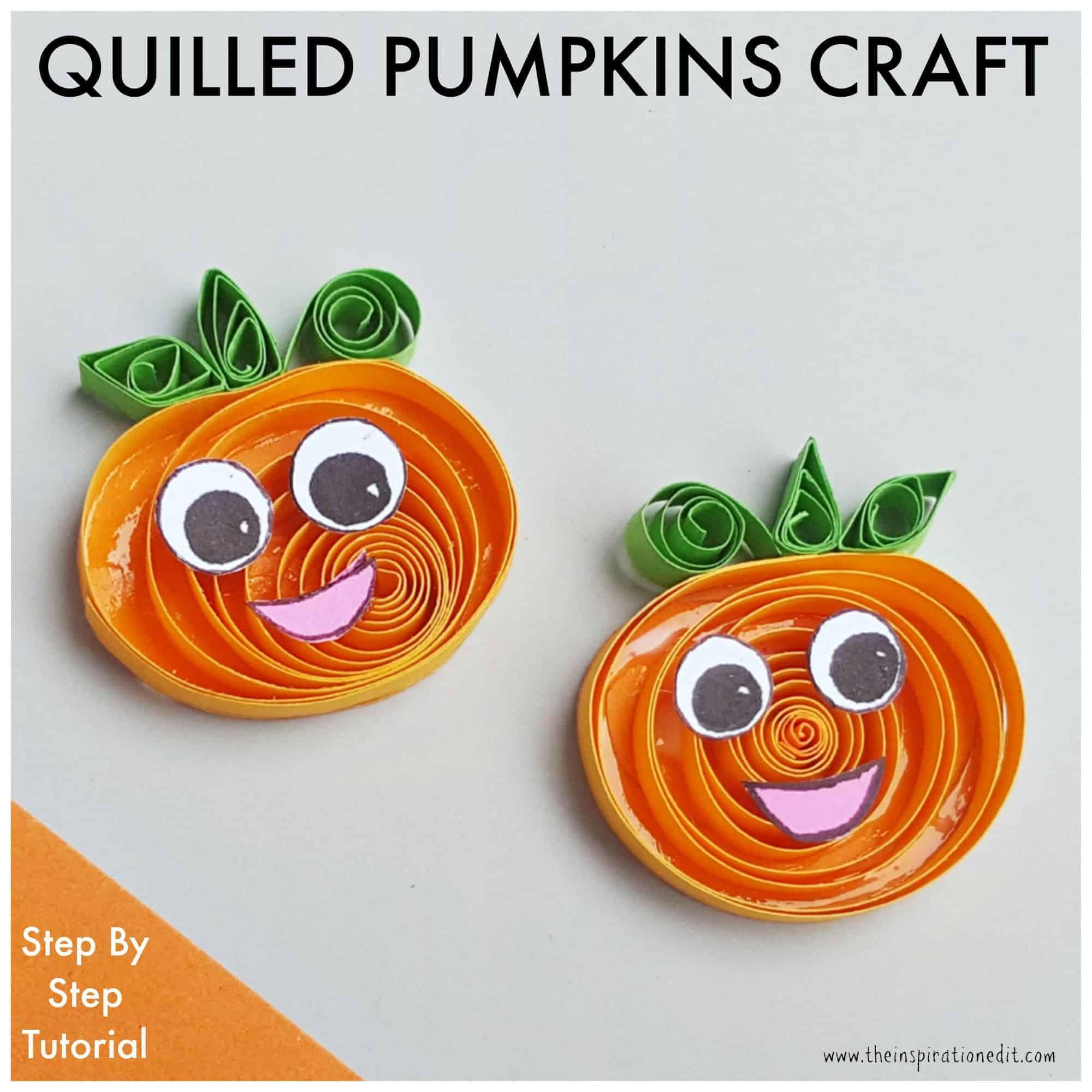 pumpkin craft for kids