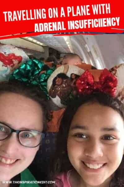 travelling on a plane with adrenal insufficiency