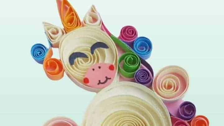 unicorn quilling pictures