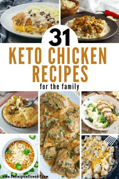 31 Keto Chicken Recipes For The Family